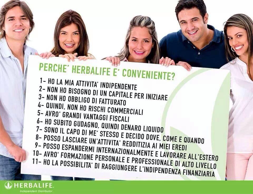 Lavoro Herbalife: come funziona?