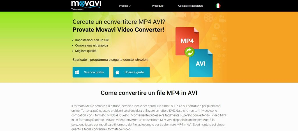 convertitore mp4 avi incontri lombardia