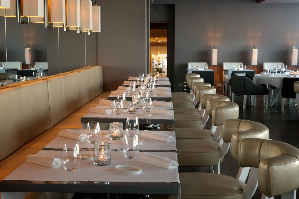 Arredamento per i ristoranti e gestione degli spazi for Ristorante arredamento