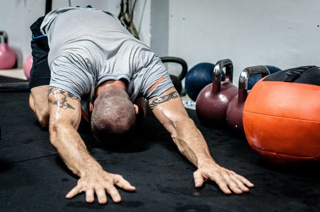 Stretching e kettlebell